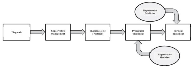 Proposed Clinical flow for Regenerative Medicine for Knee OA