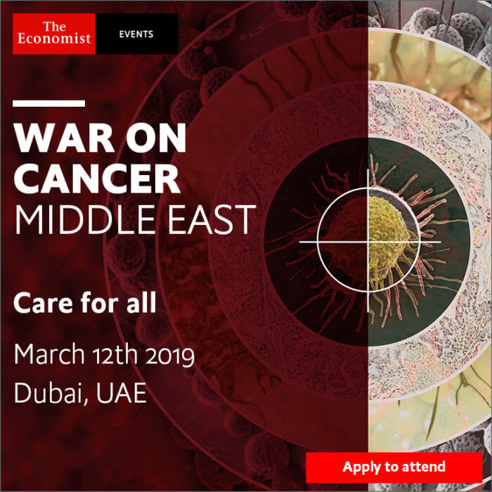 War on Cancer Middle East - The Economist