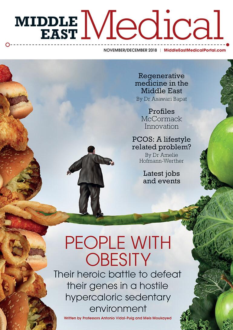 Middle East Medical portal magazine November - December 2018