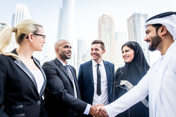 Global business team middle east 770px