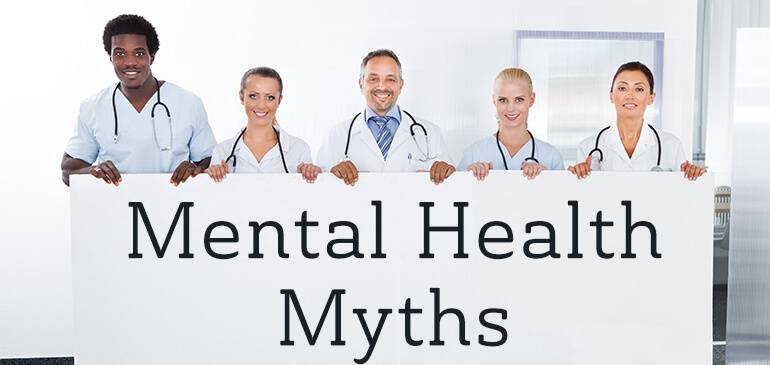 Mental health myths