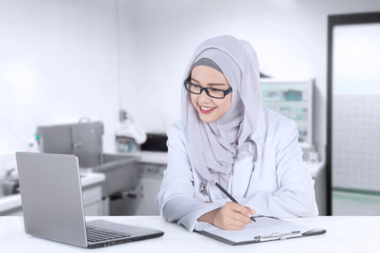 Write medical article