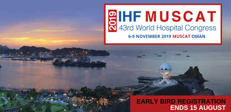 Global health leaders to come together at the 43rd IHF World Hospital Congress