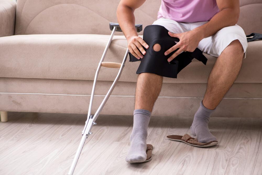 Knee rehabilitation