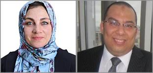 Professor Samar Ahmed & Mohamed Omar