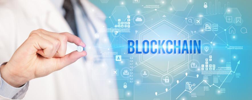 blockchain drug tracking pharmaceutical chain