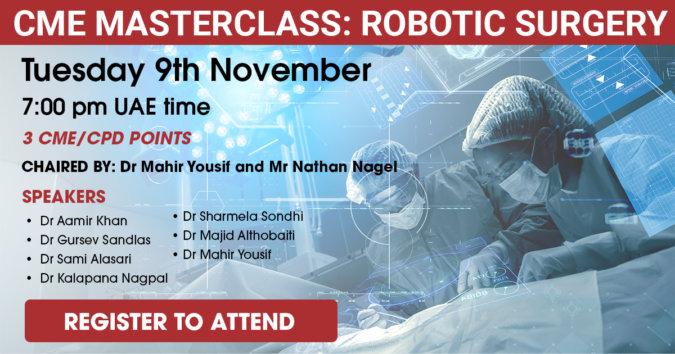 Robotic Surgery Masterclass